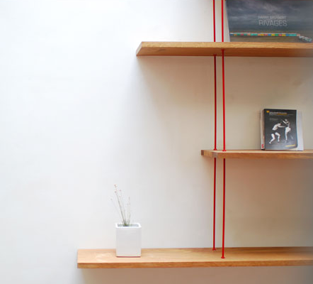 Biblioth que objet d co - Etagere suspendue design ...