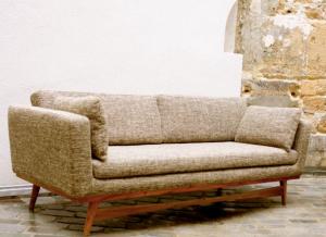canap fifties objet d co. Black Bedroom Furniture Sets. Home Design Ideas