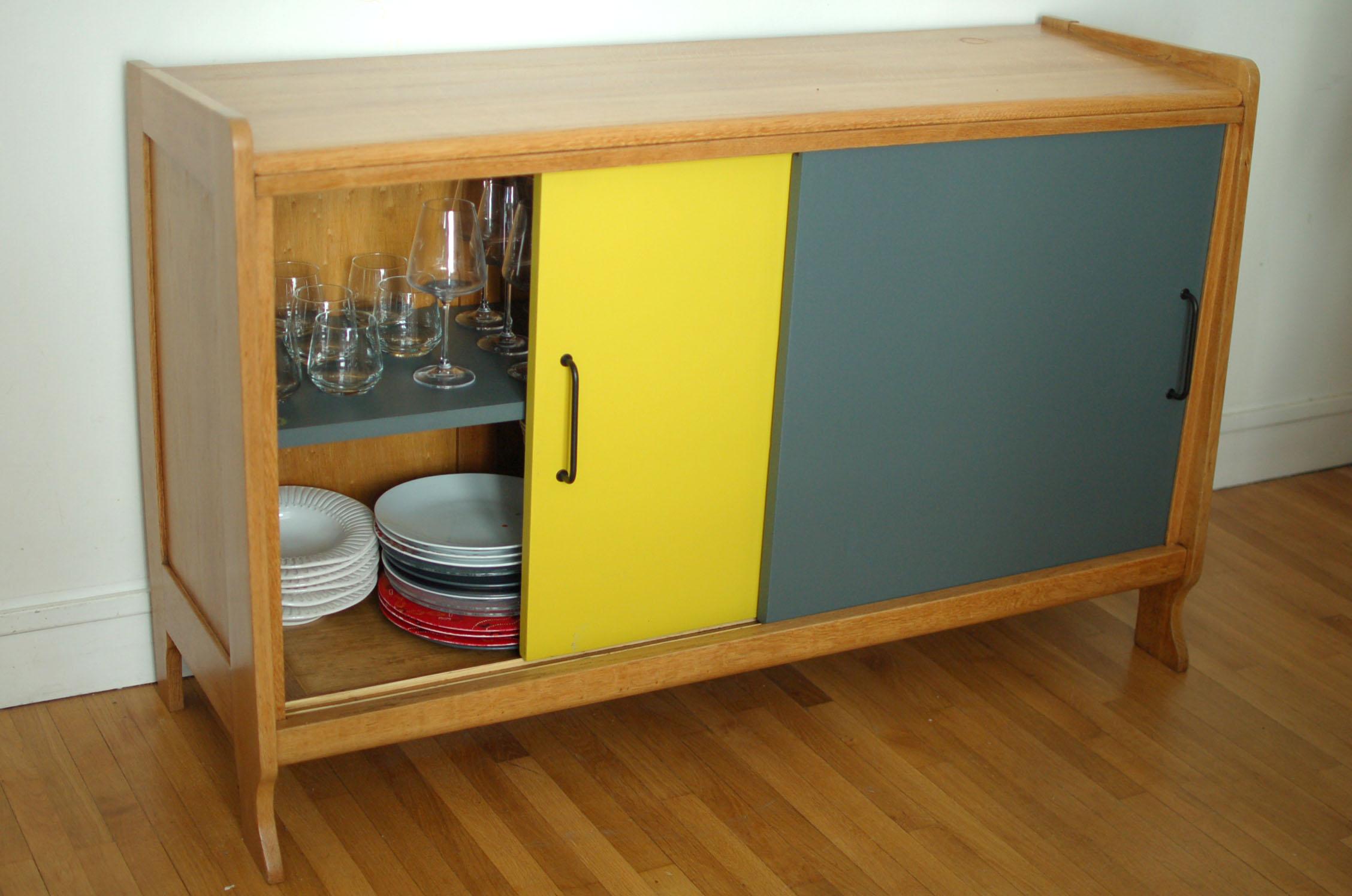 Enfilade design objet d co for Meuble bureau diy