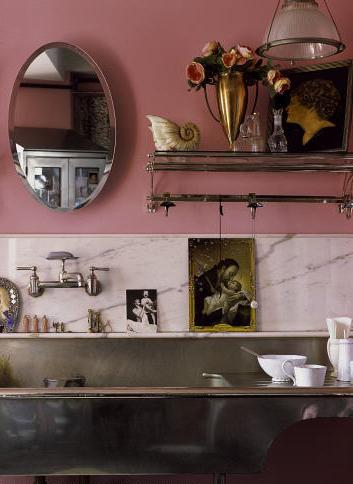 rose poudr objet d co. Black Bedroom Furniture Sets. Home Design Ideas