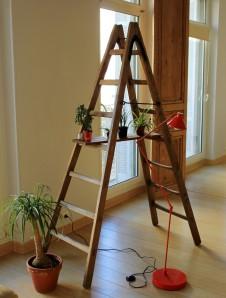 objetdeco_visite privee_échelle en bois